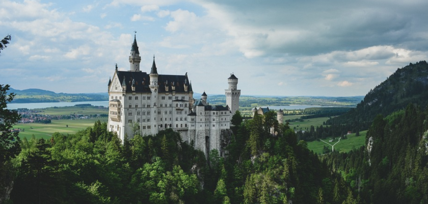 How castles were built and financed in medieval times and how it's done today